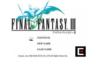 Final Fantasy III title