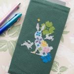 花ウサギ「ラビッタ」の手帳カバー